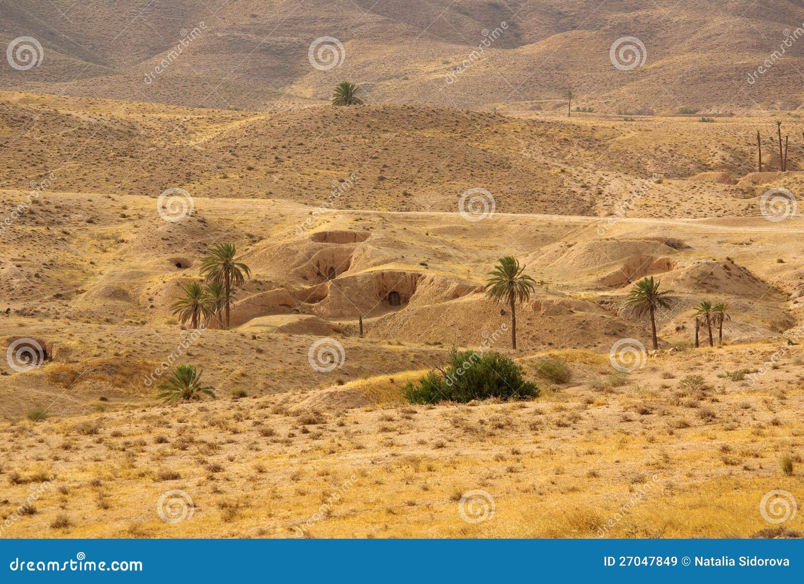 Troglodytes de Berbers de logement