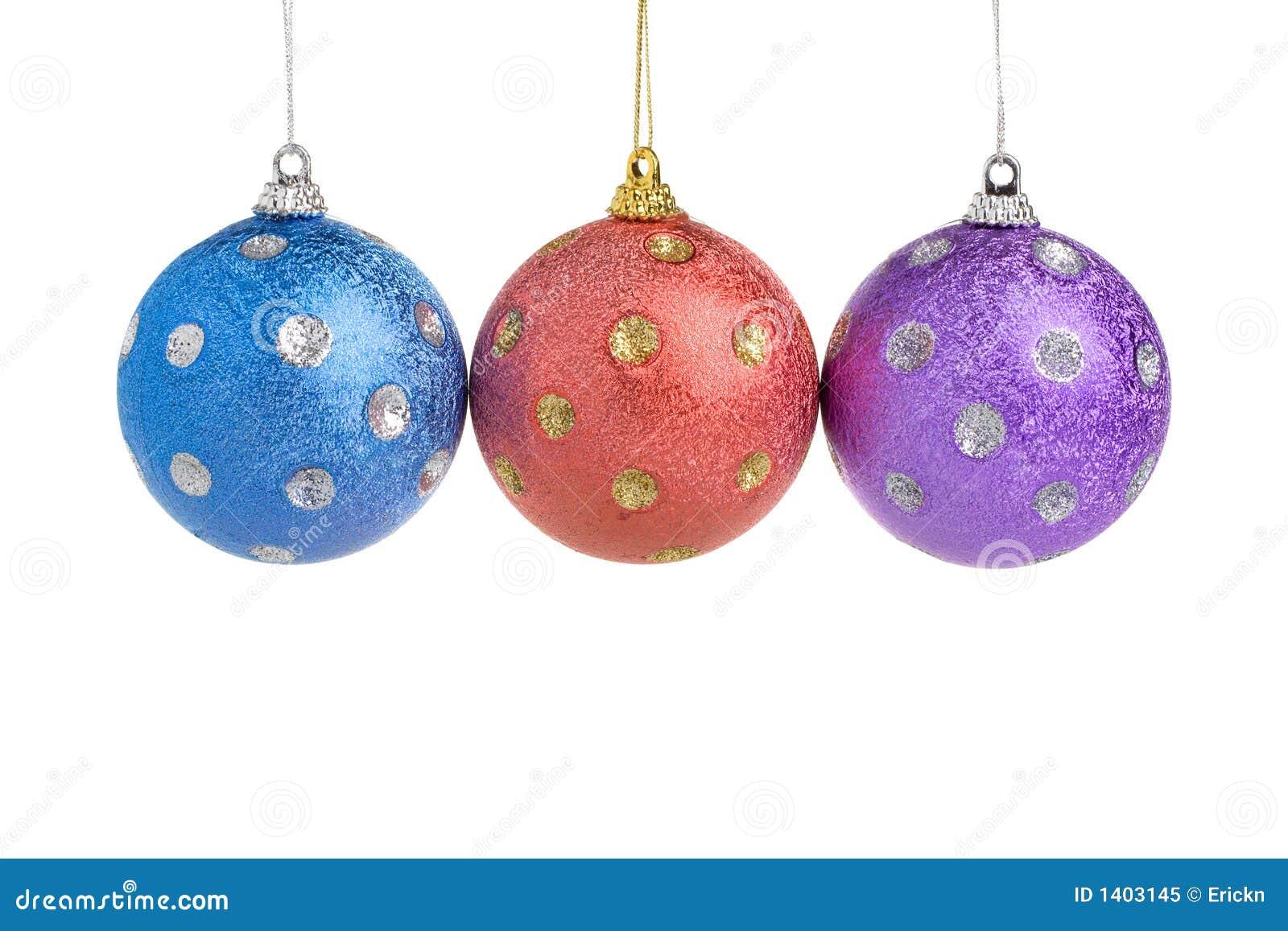 Trois billes de Noël