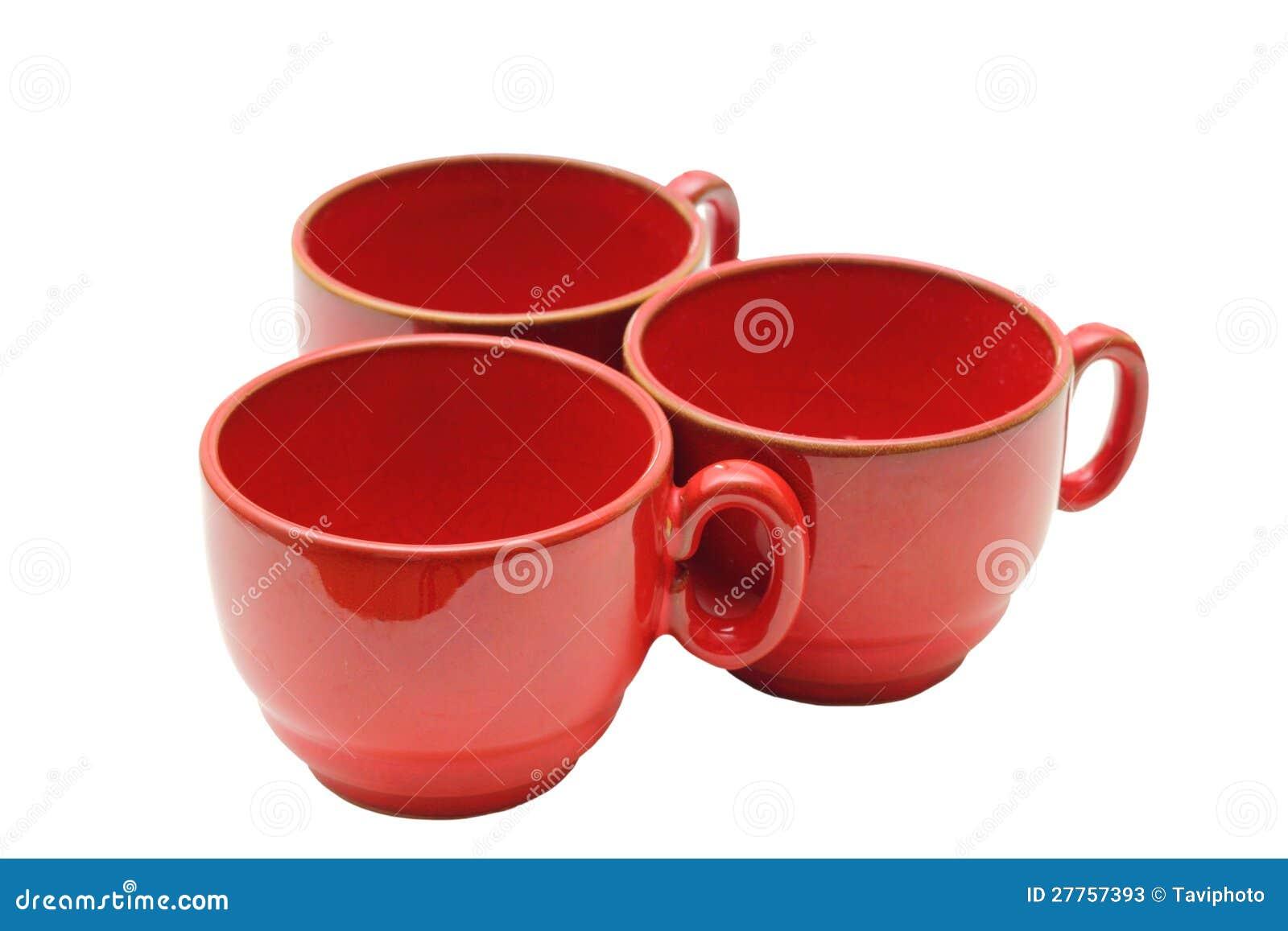 Trois cuvettes de café