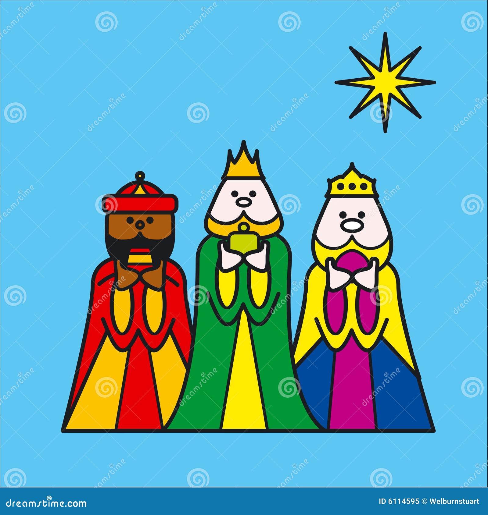 Trois rois bleus