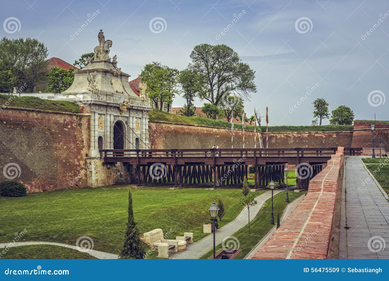 Troisième porte, Carolina Citadel blanche, Alba Iulia