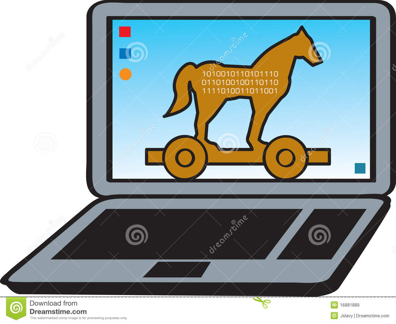 Trojan Horse Royalty Free Stock Images - Image: 16881889