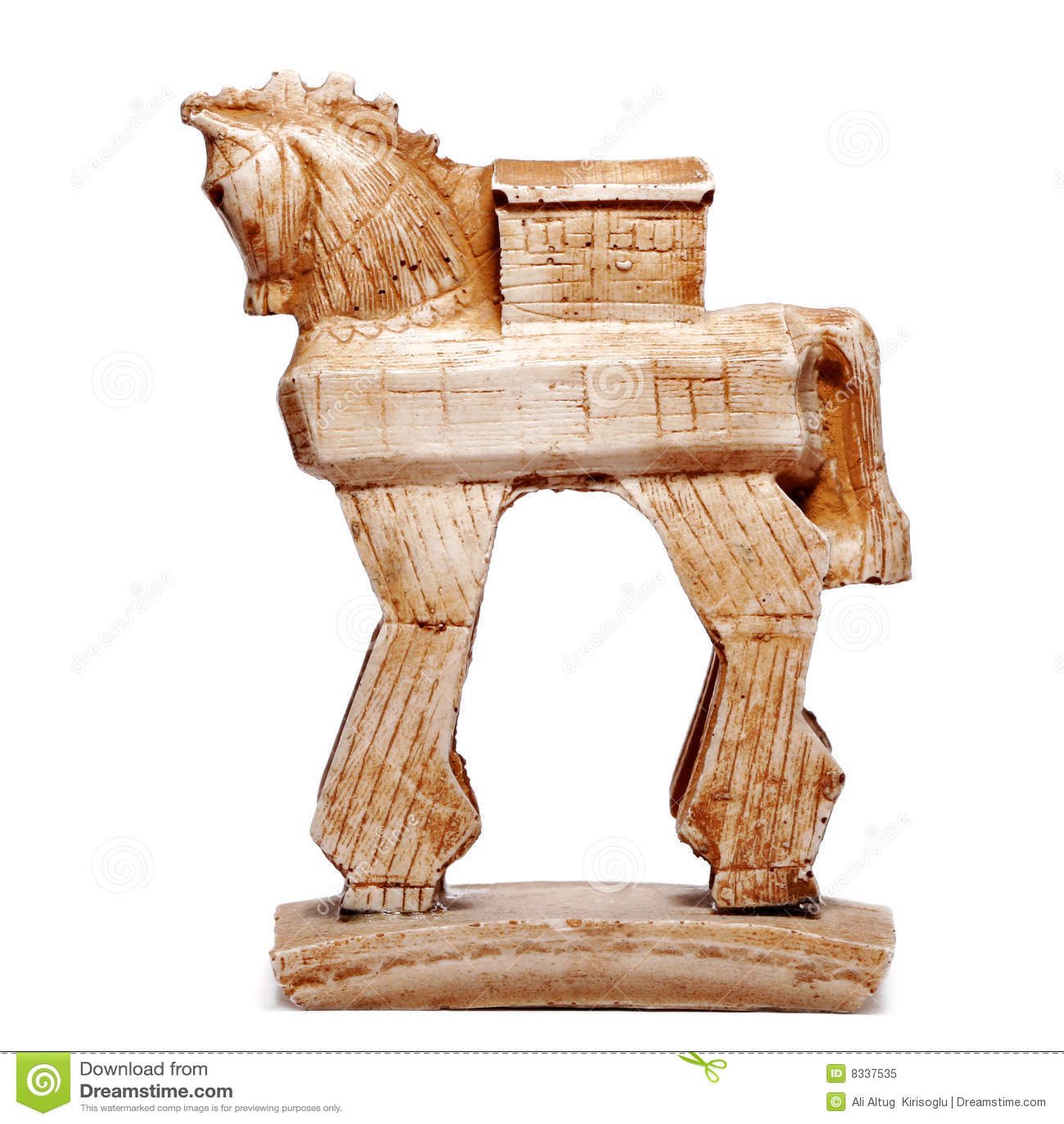 trojan horse figurine bibelot royalty free stock photo image 8337535. Black Bedroom Furniture Sets. Home Design Ideas