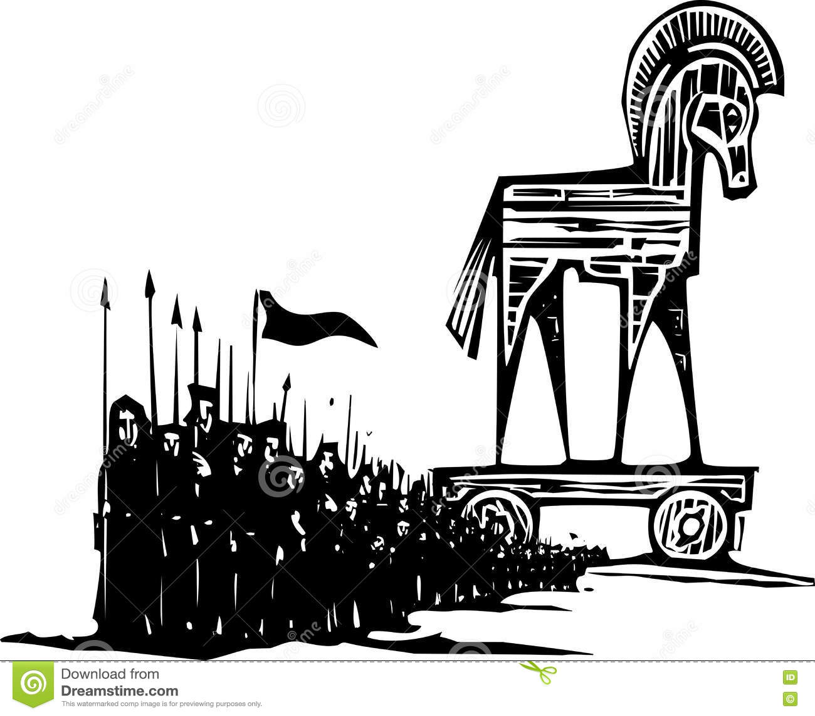 Trojan- Horsearmee