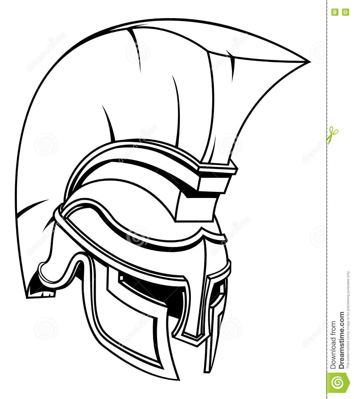 Gladiator Drawing Easy