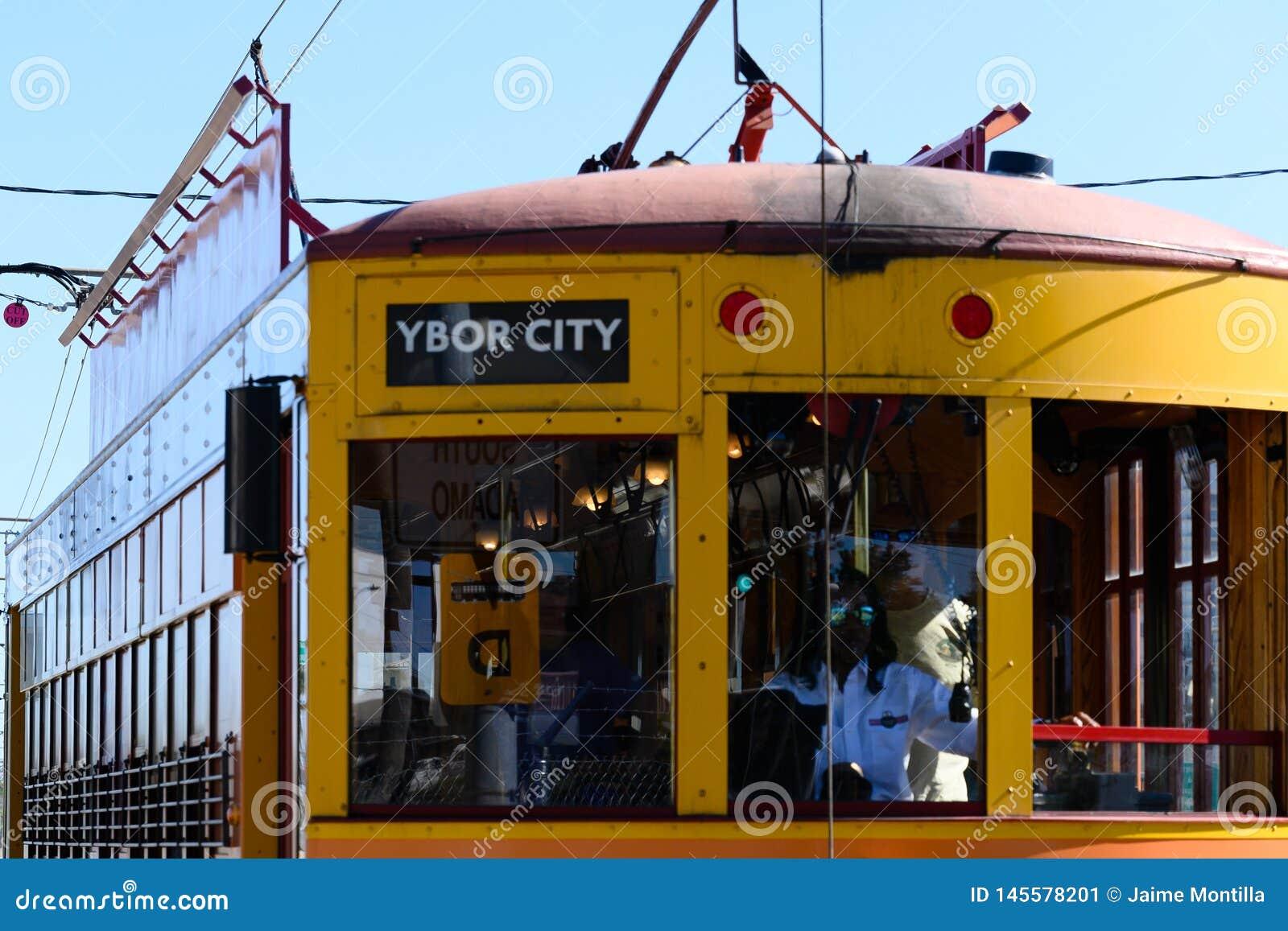 Trole da cidade de Ybor