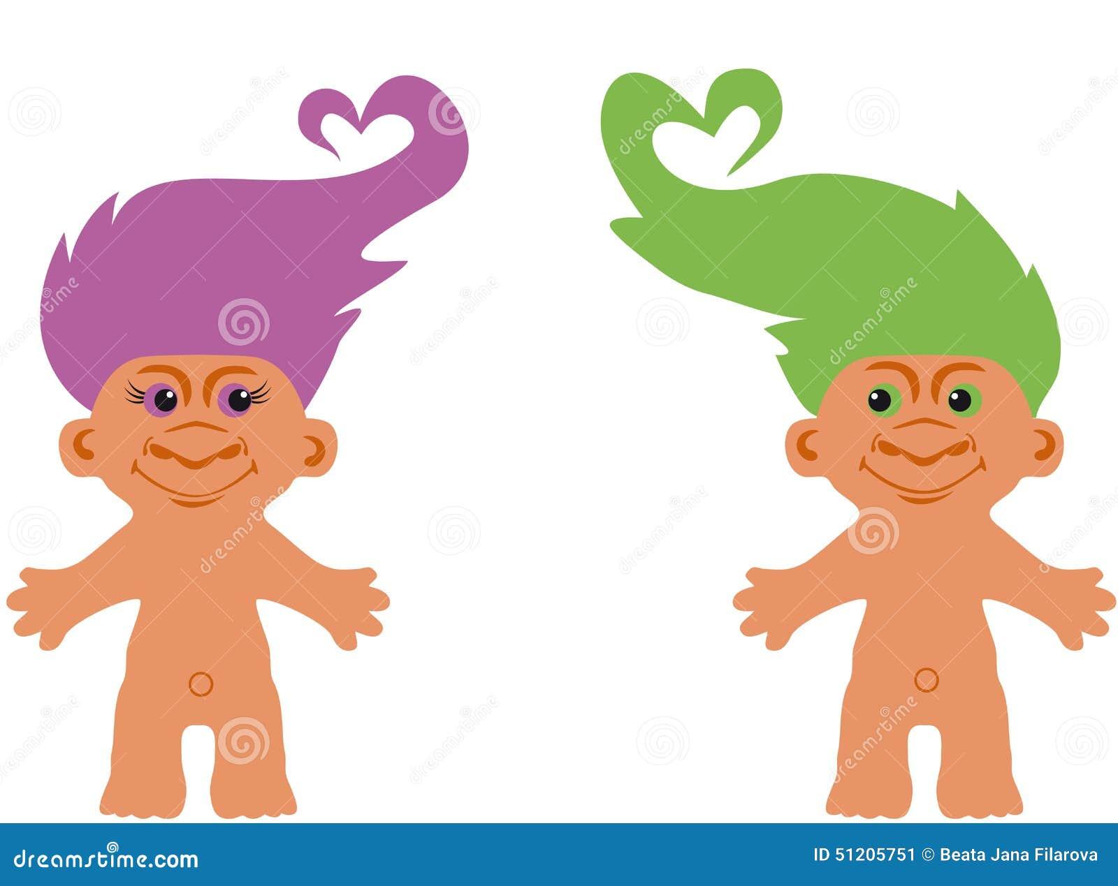 Cartoon Character Troll Stock Vector Image Of Goblin