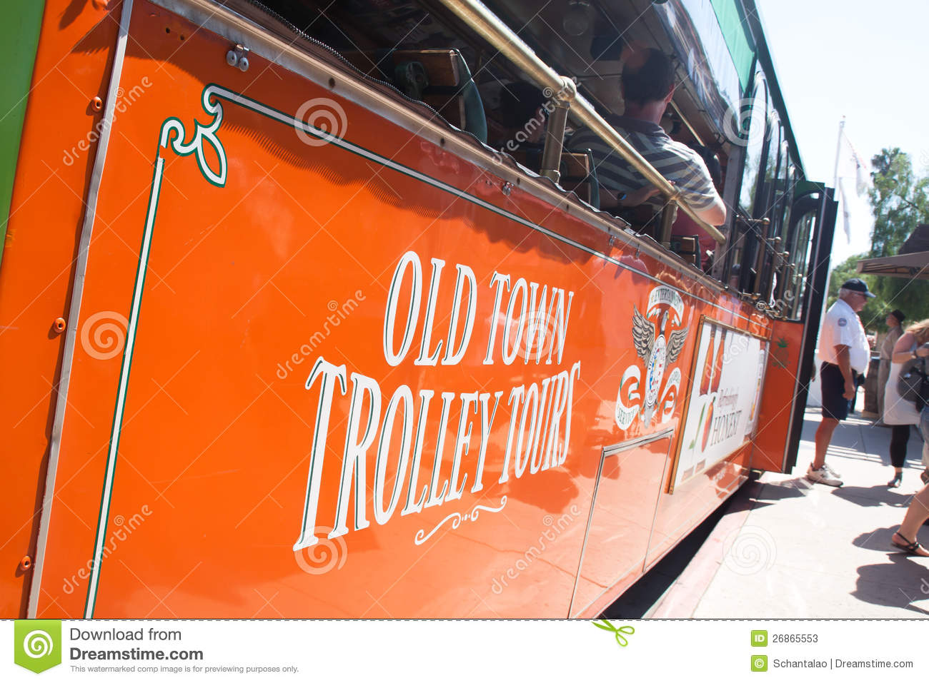 Old Town Tolley Tour Vector