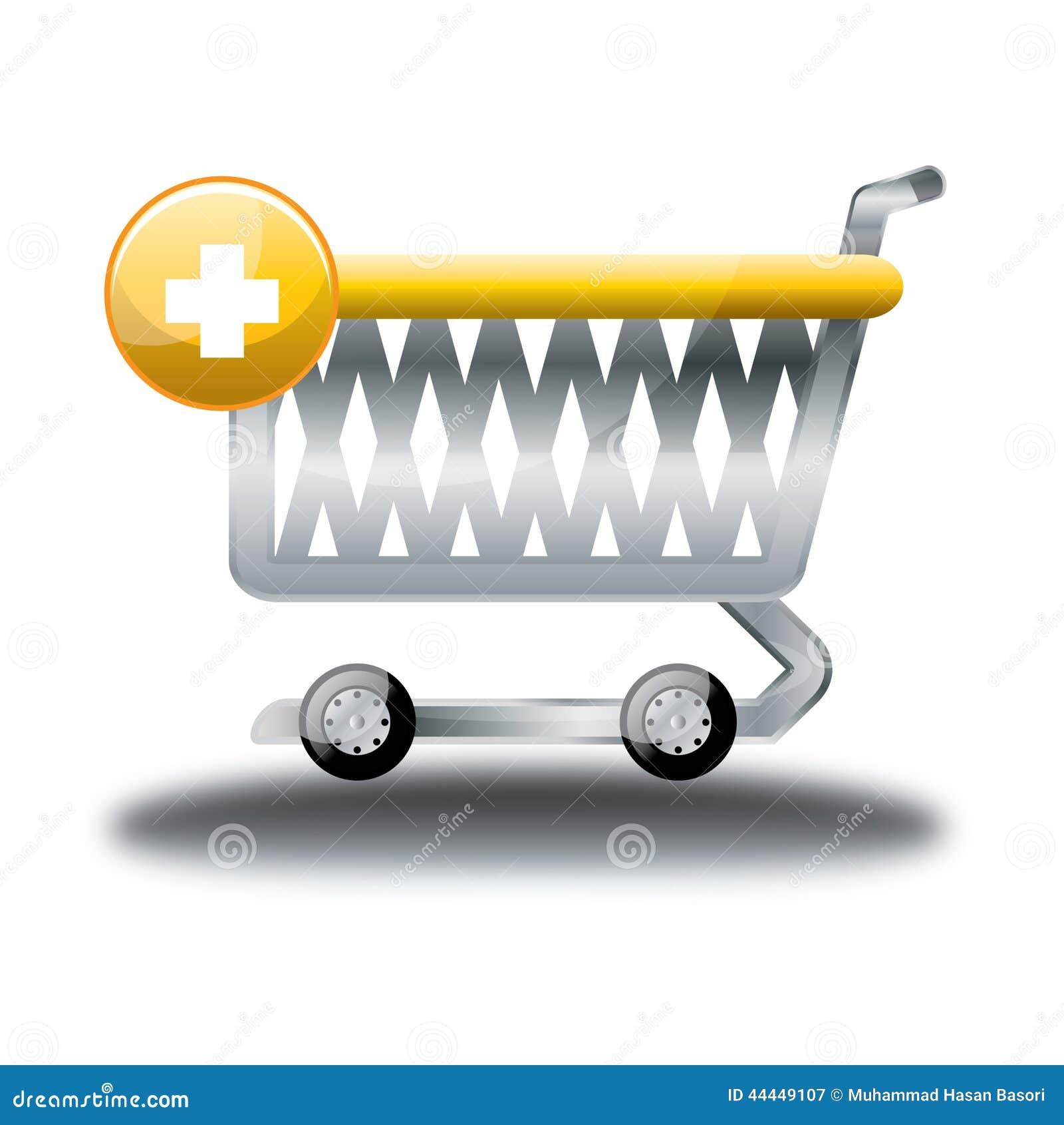 trolli buy online shop cartoon icon stock vector image 44449107. Black Bedroom Furniture Sets. Home Design Ideas