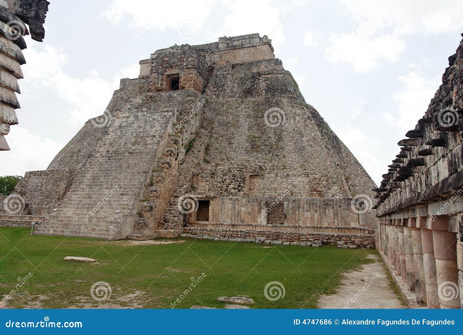 Trollkarlmexico pyramid uxmal yucatan