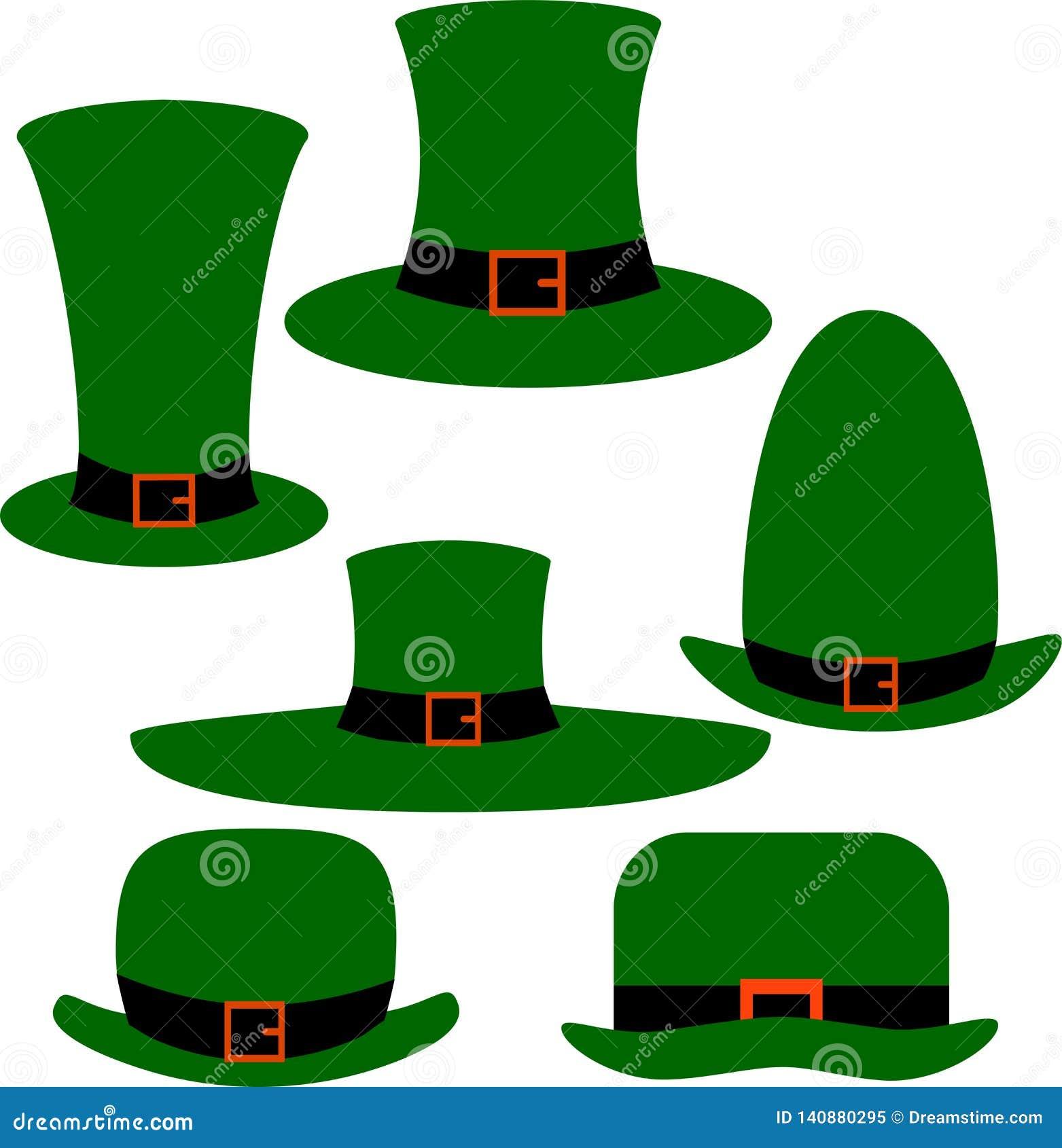 Trolls gröna hattar för garnering