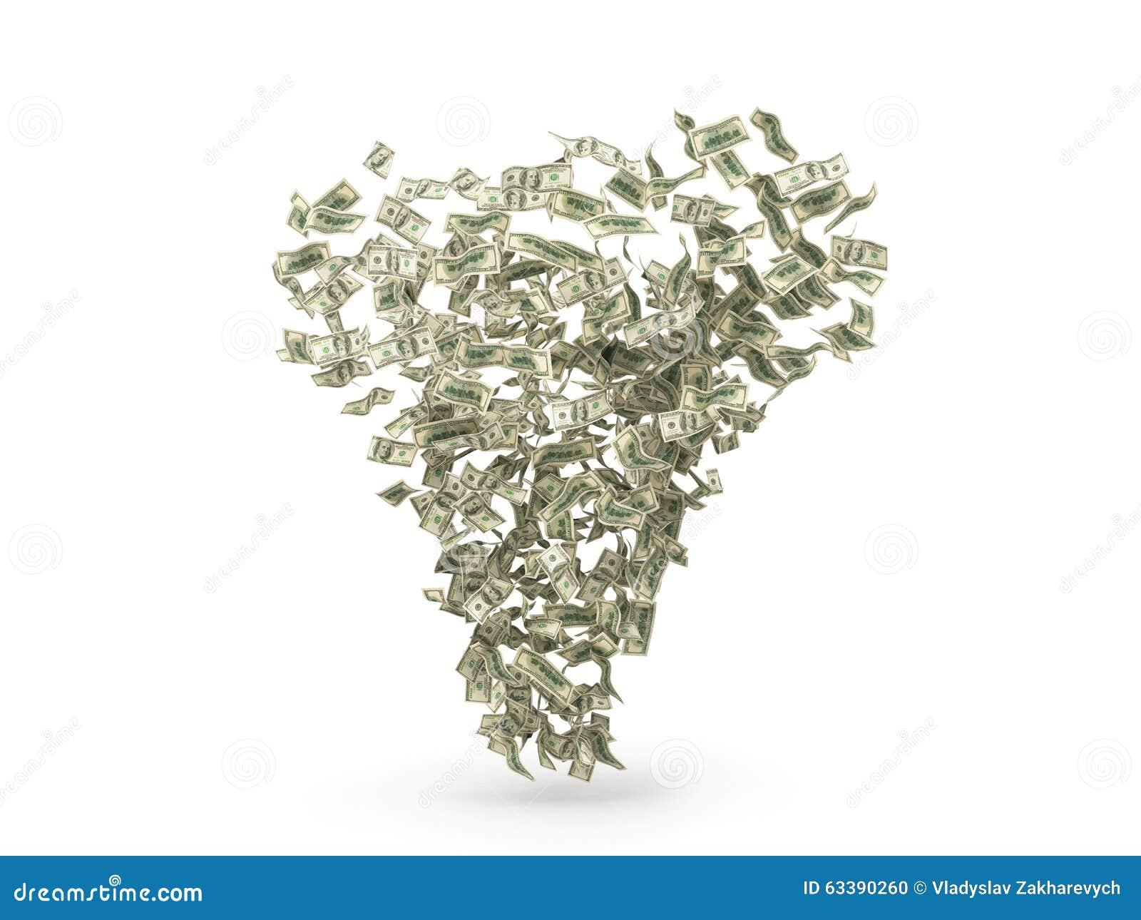 Tromb för dollarräkningar
