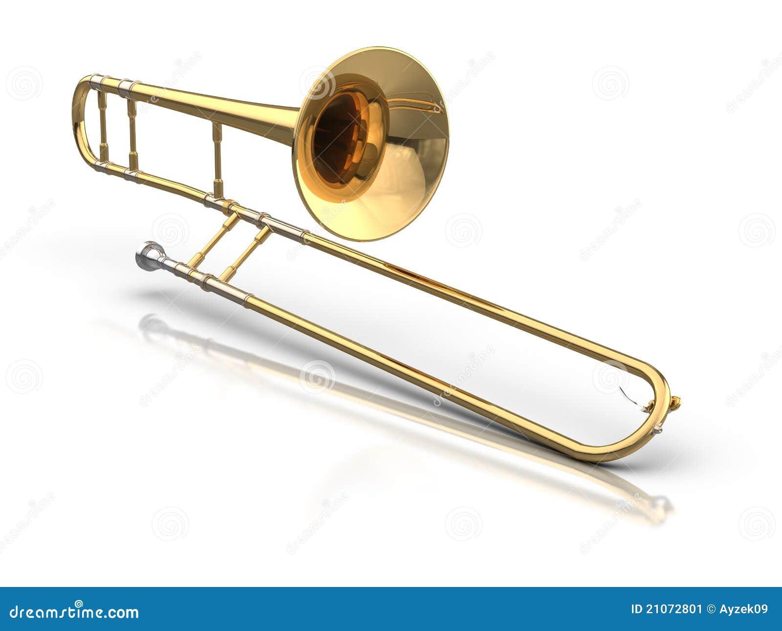 Trombone Stock Image Image 21072801