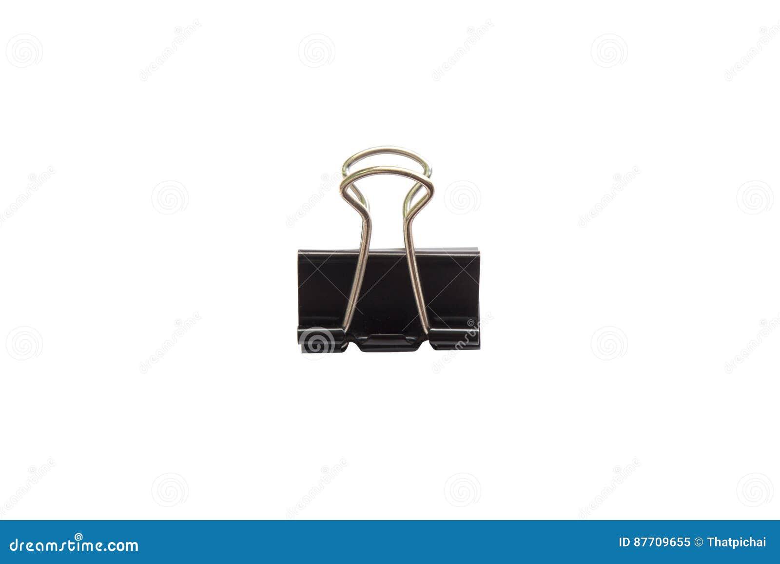 Trombone noir d isolement sur le fond blanc