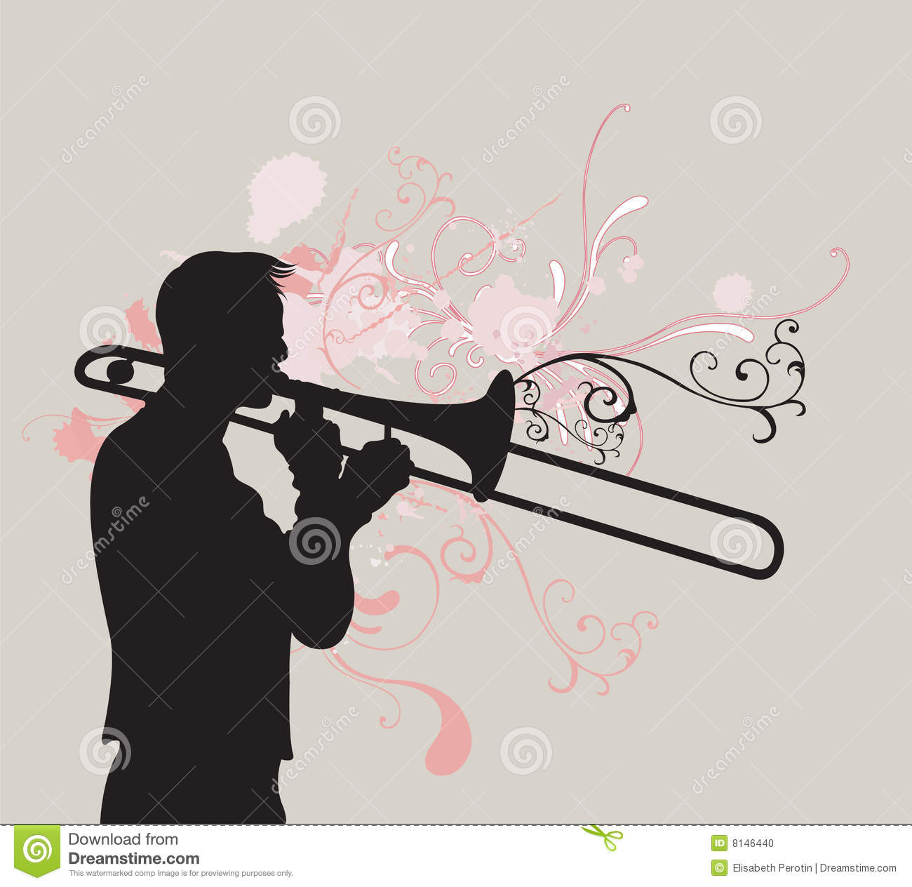Trombone Player Stock Photo - Image: 8146440: dreamstime.com/stock-photo-trombone-player-image8146440