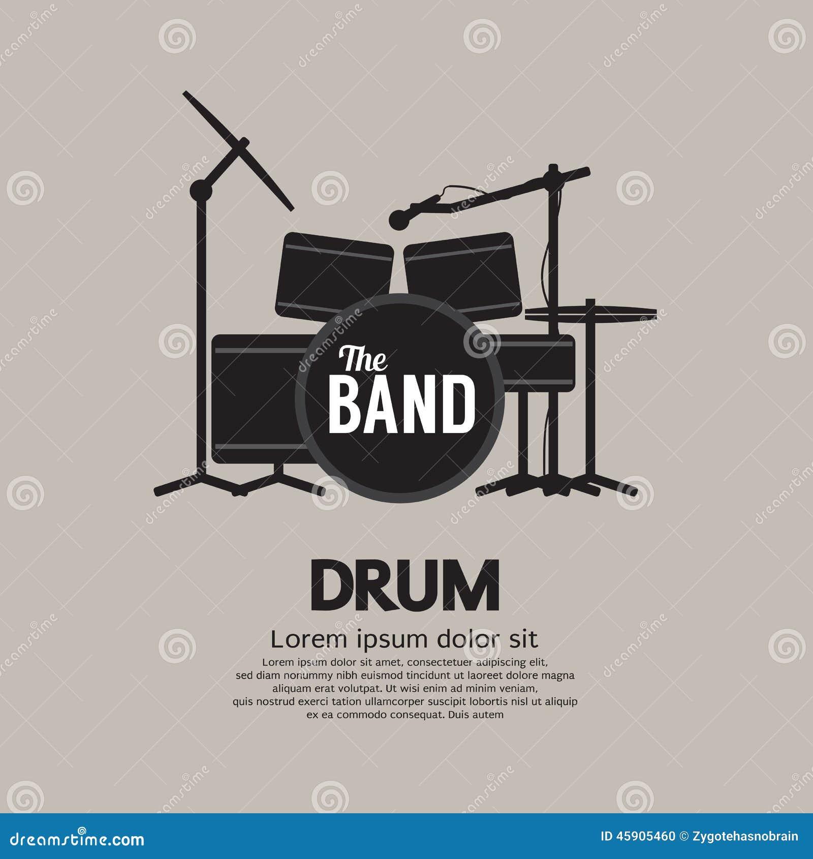 Trommel-gesetztes Musik-Instrument