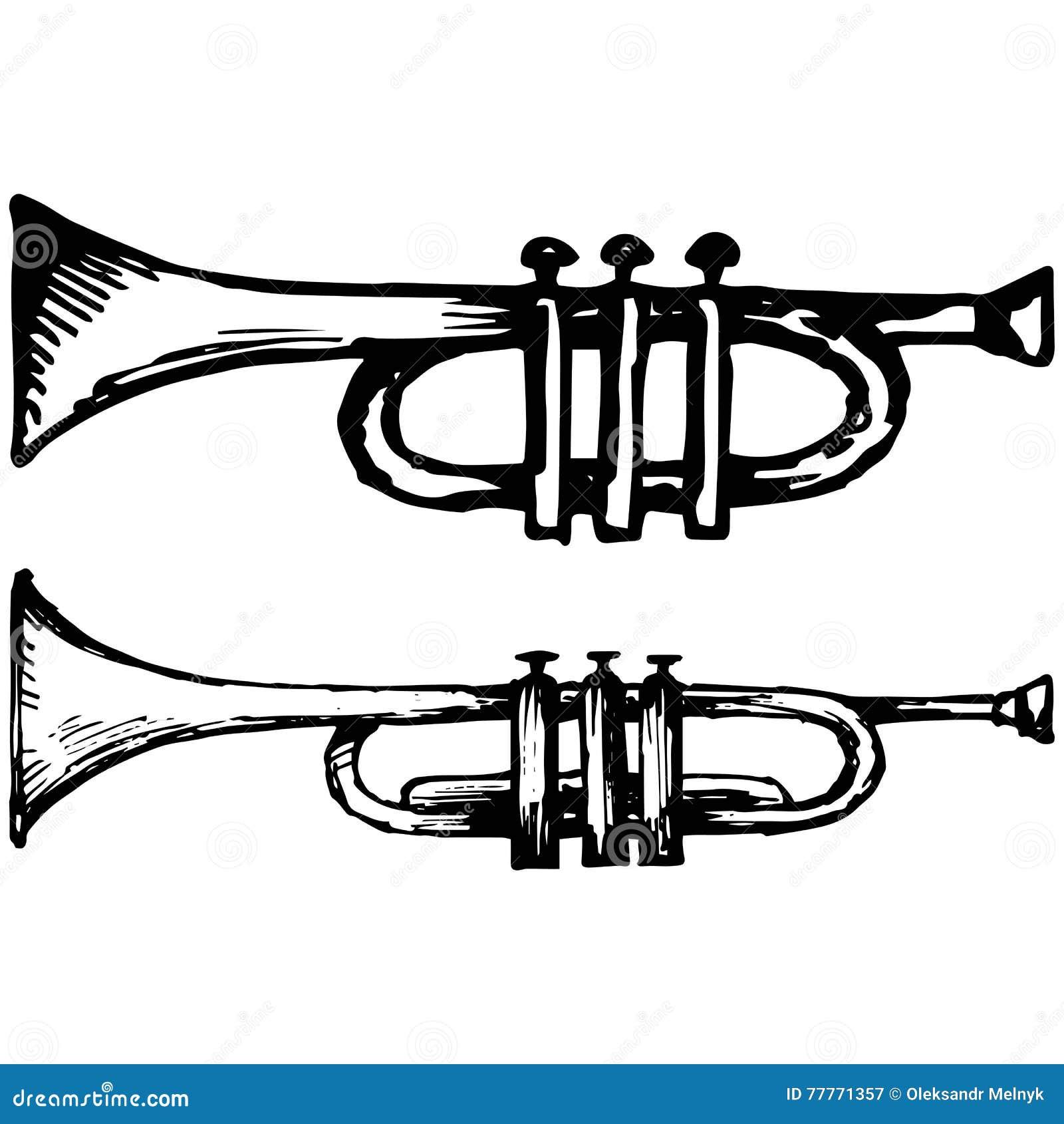 Trompet, muzikaal instrument