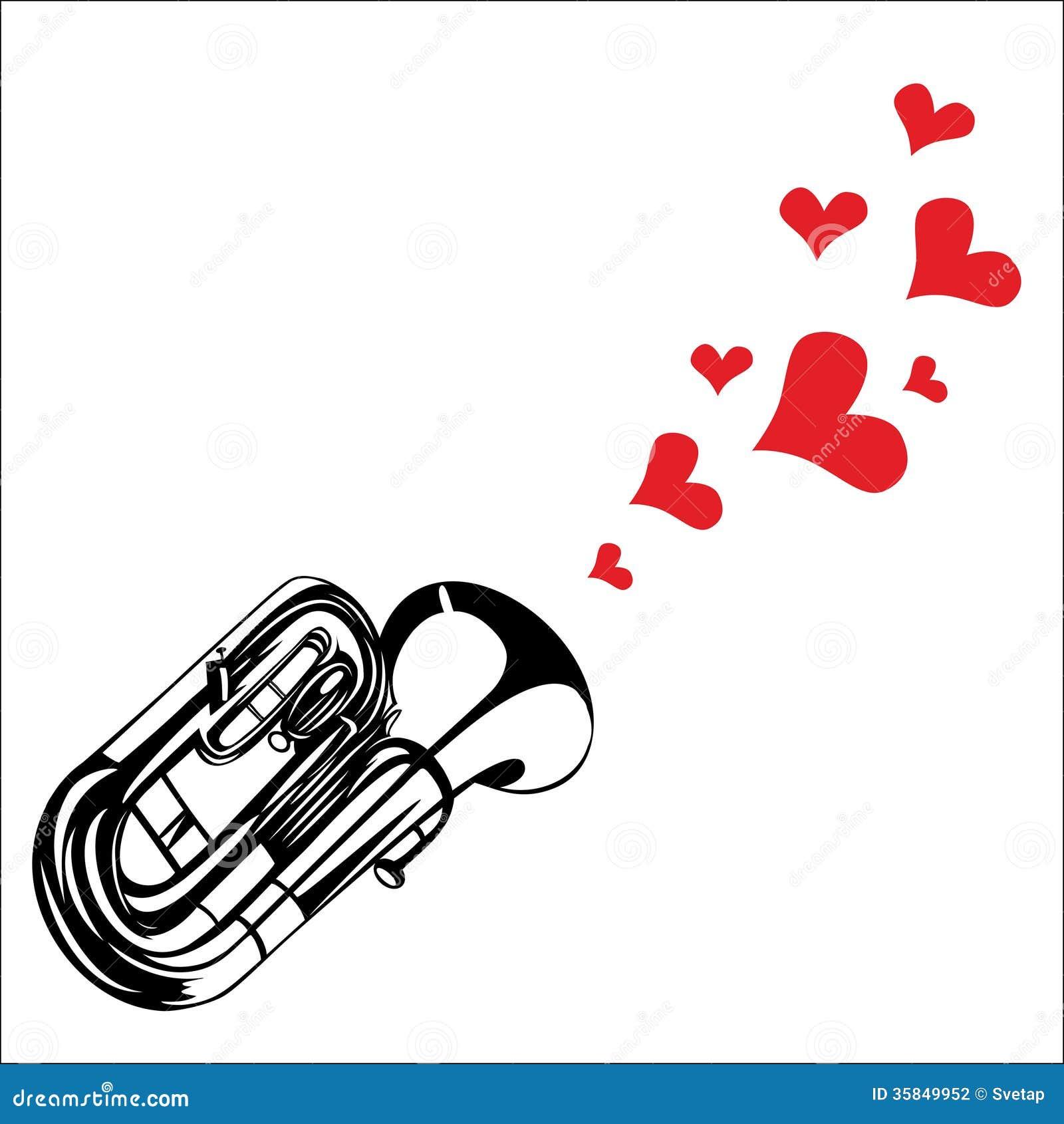 Ensemble de trompette sur fond blanc - Telecharger Vectoriel Gratuit,  Clipart Graphique, Vecteur Dessins et Pictogramme Gratuit