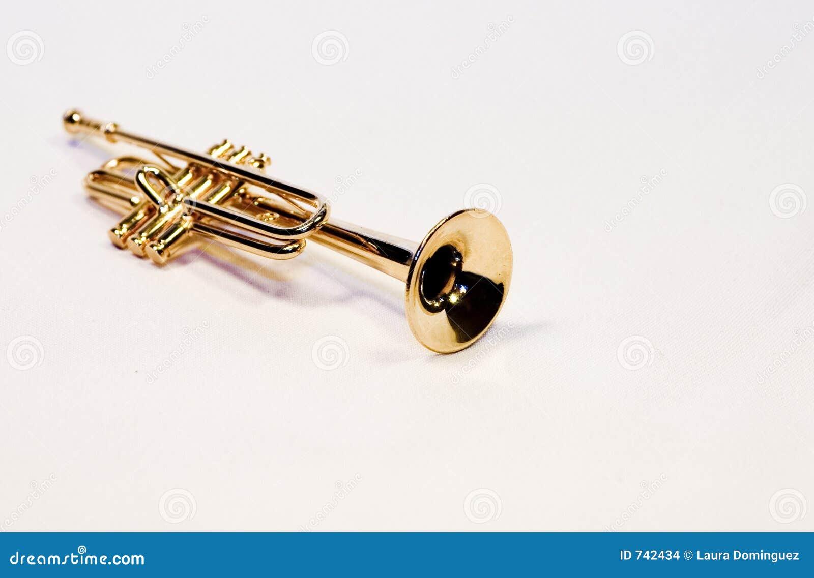 Trompette en laiton
