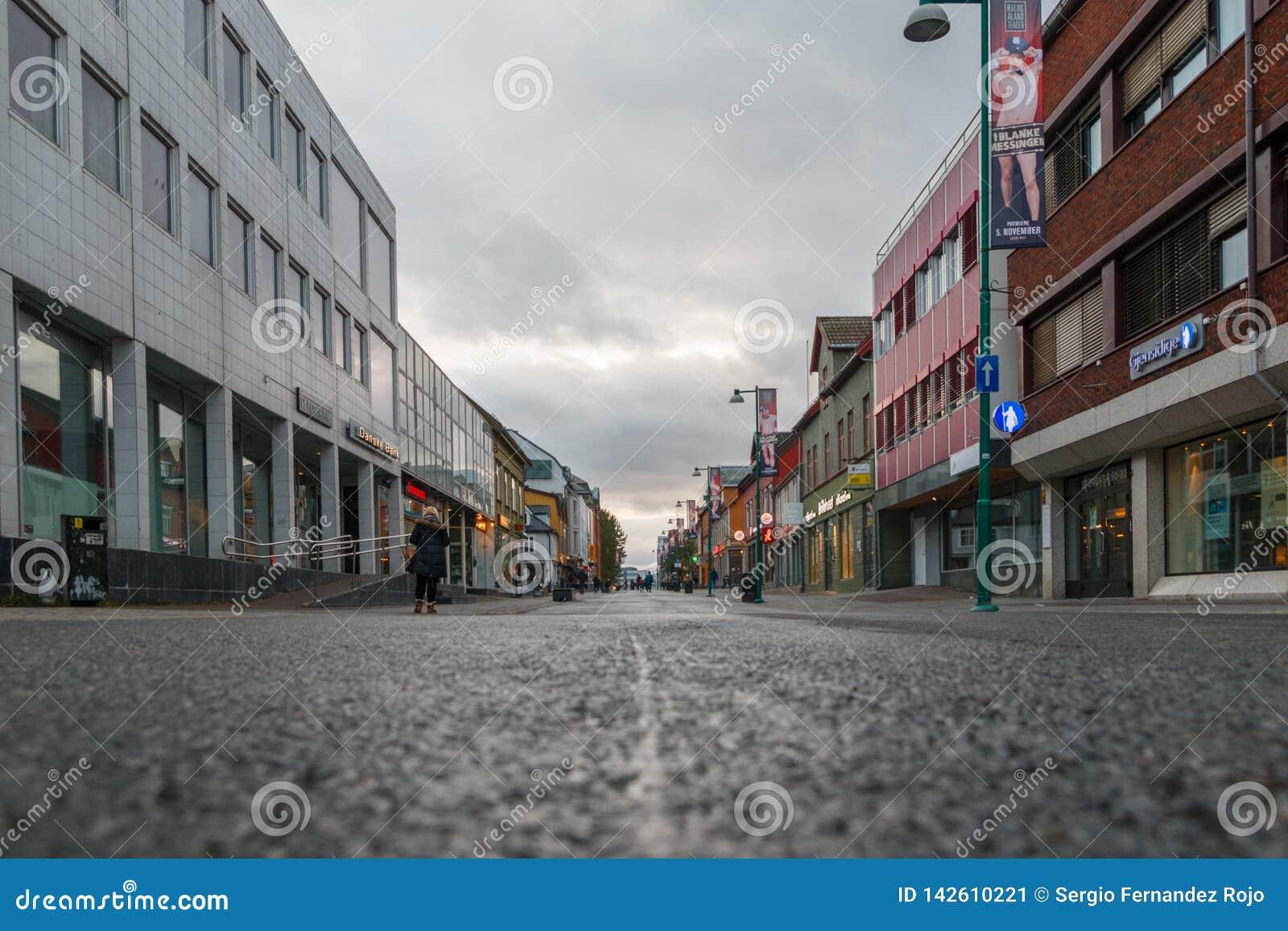 Tromse, Noruega Main Street