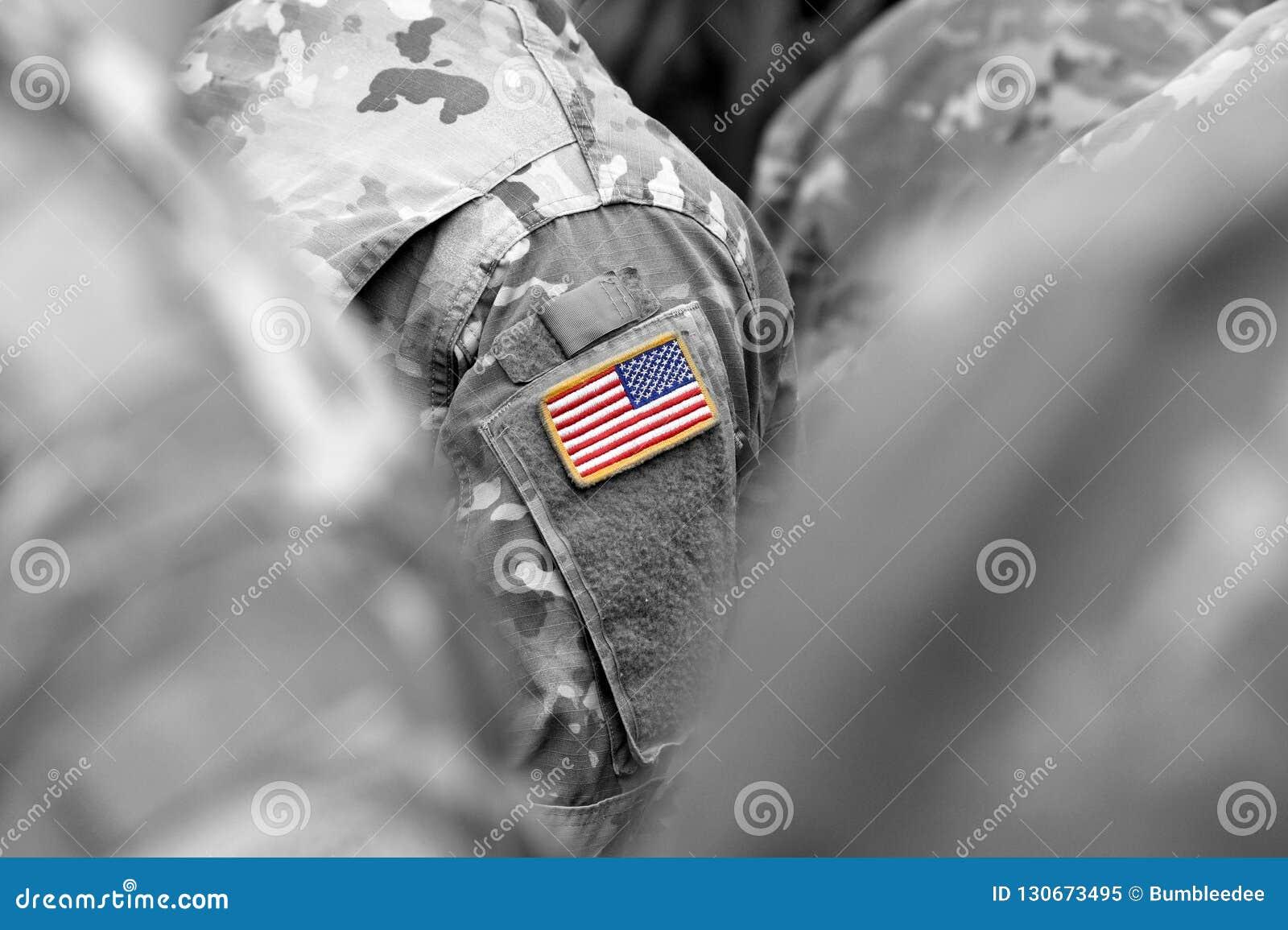 Tropas dos E.U. Soldados dos E.U. Exército dos EUA