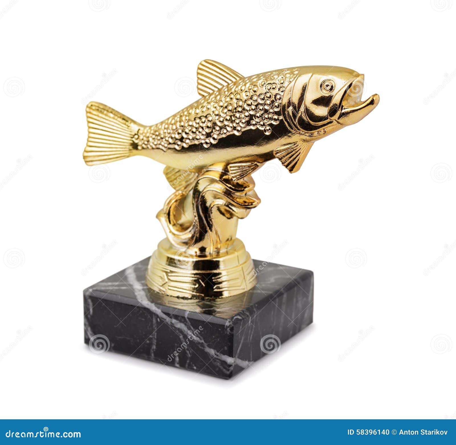 Trophée de pêche de truite