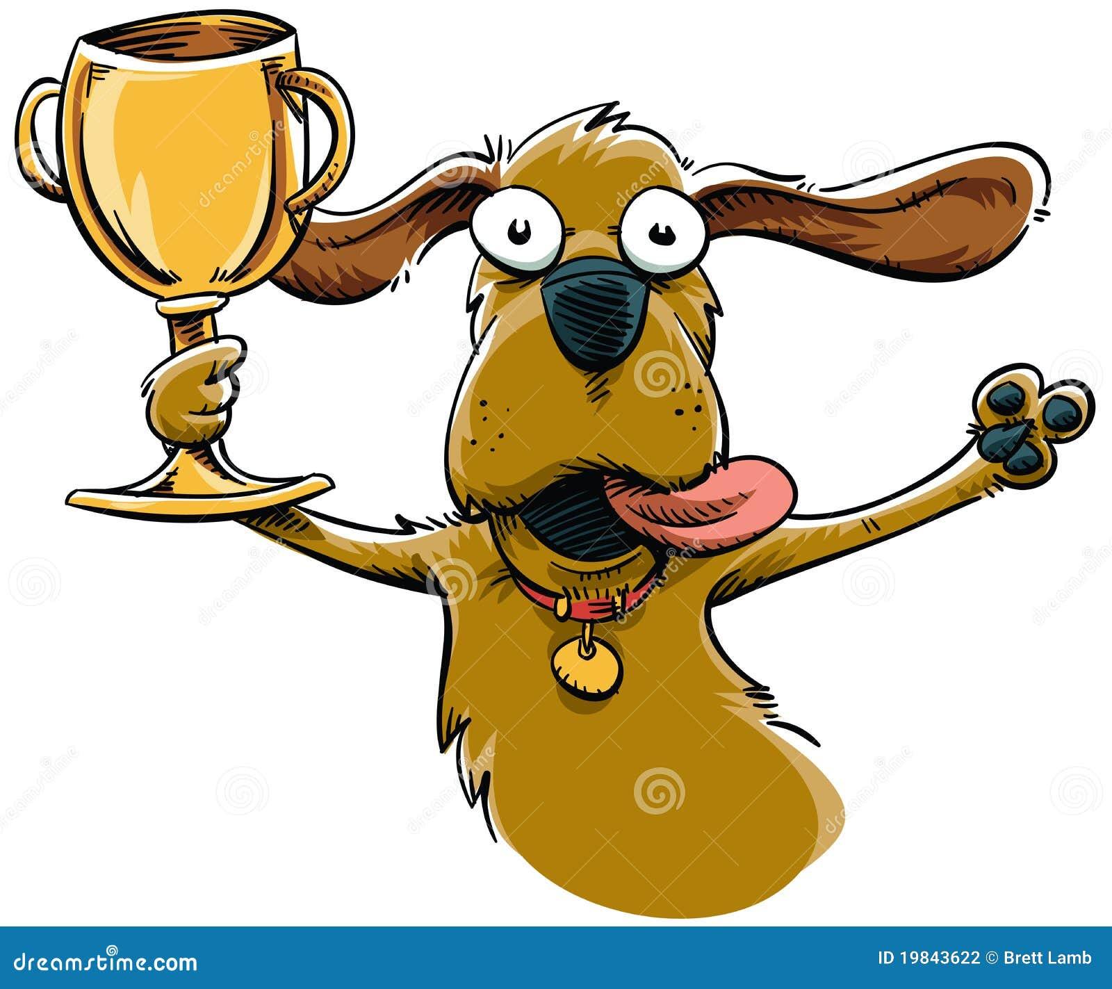 Trophy Dog stock illus...