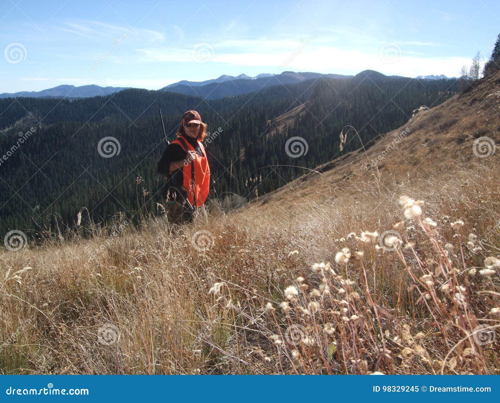 Tropić w górach Kolorado