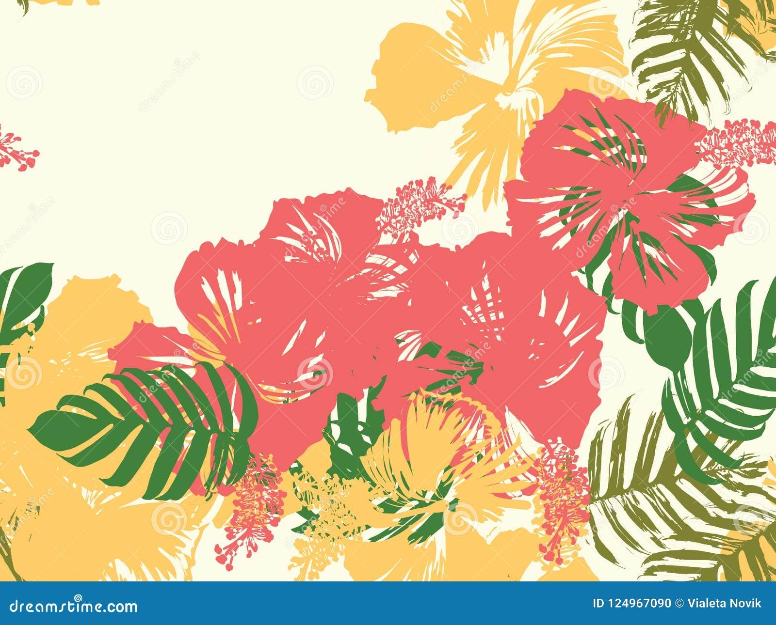 Hawaiian exotic cover template stock vector illustration of download hawaiian exotic cover template stock vector illustration of flower beach 124967090 izmirmasajfo