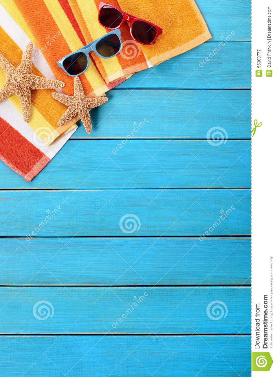 tropical beach background sunglasses vertical stock photo