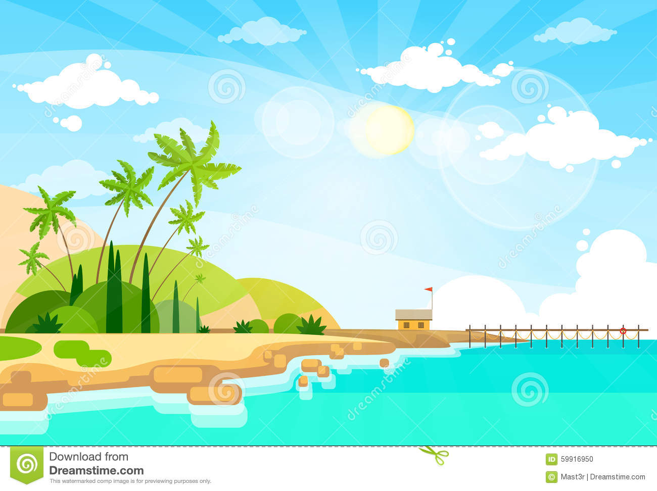 sea bed beach vector - photo #19