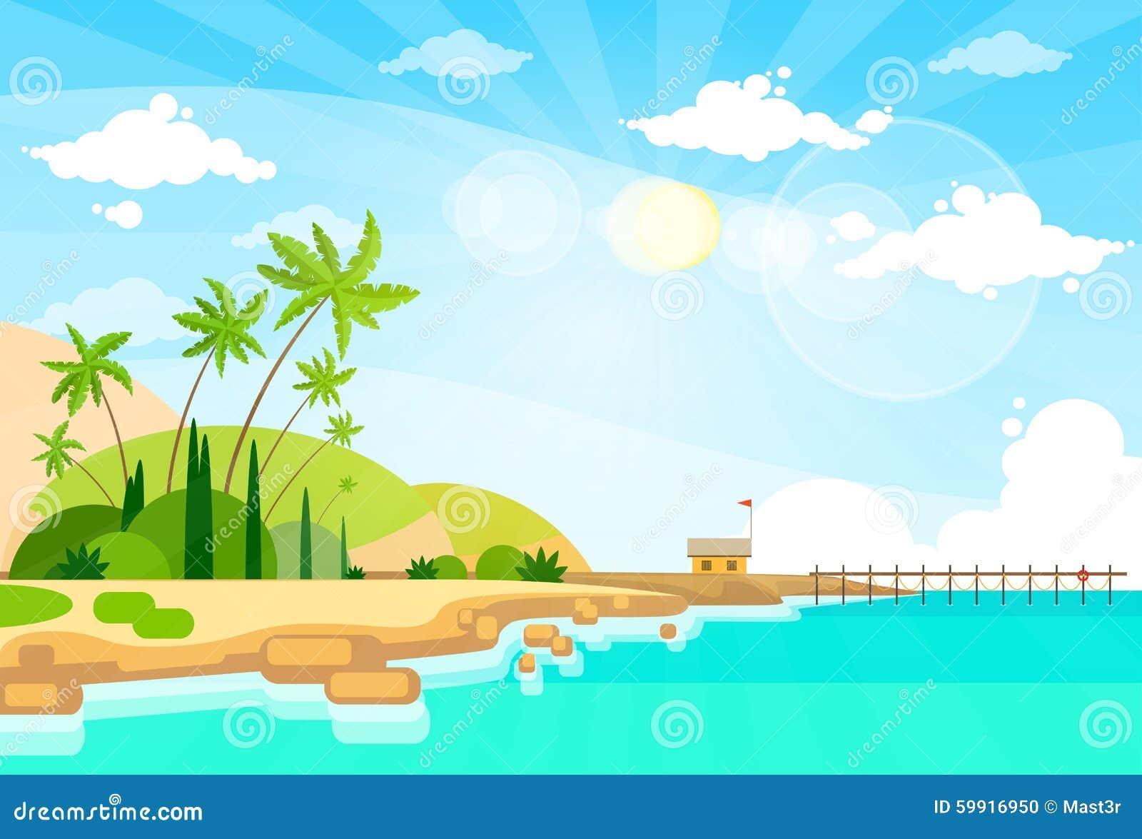 sea bed beach vector - photo #19