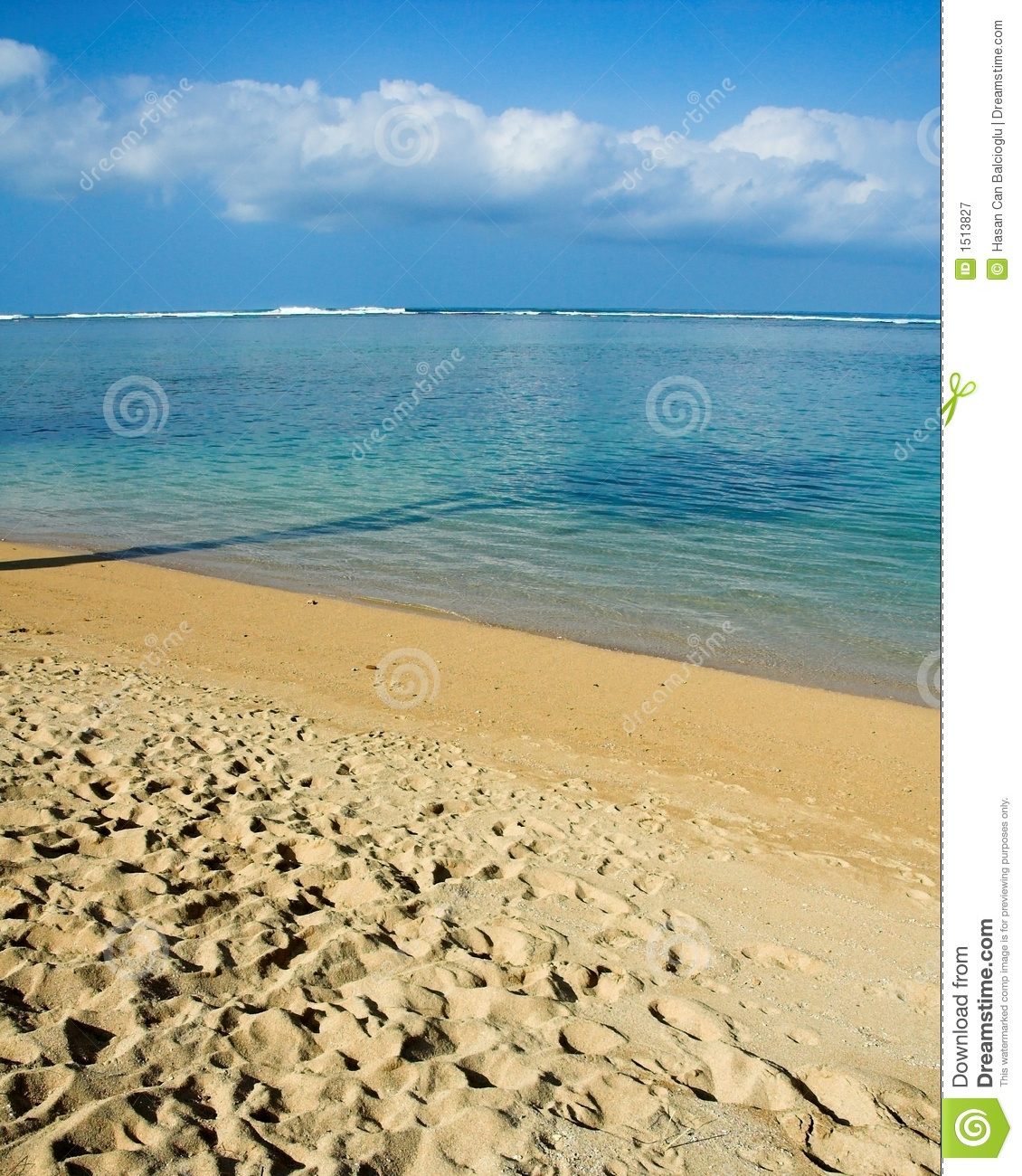 Kauai Beaches: Tropical Beach In Kauai, Hawaii Royalty Free Stock