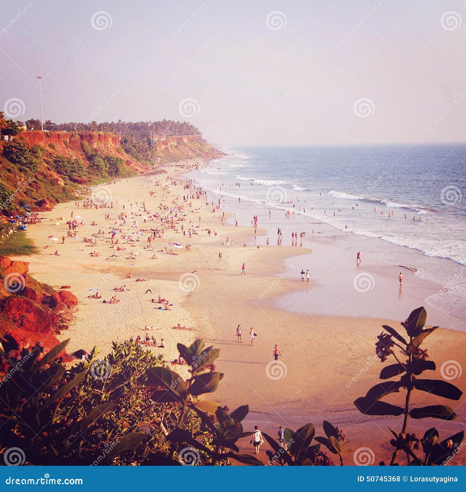 Tropical Beach And Peaceful Ocean