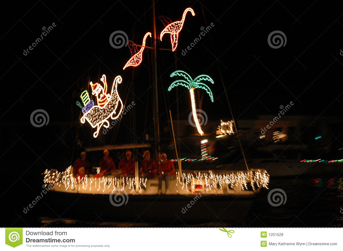 Tropical Christmas Lights Royalty Free Stock Images ...