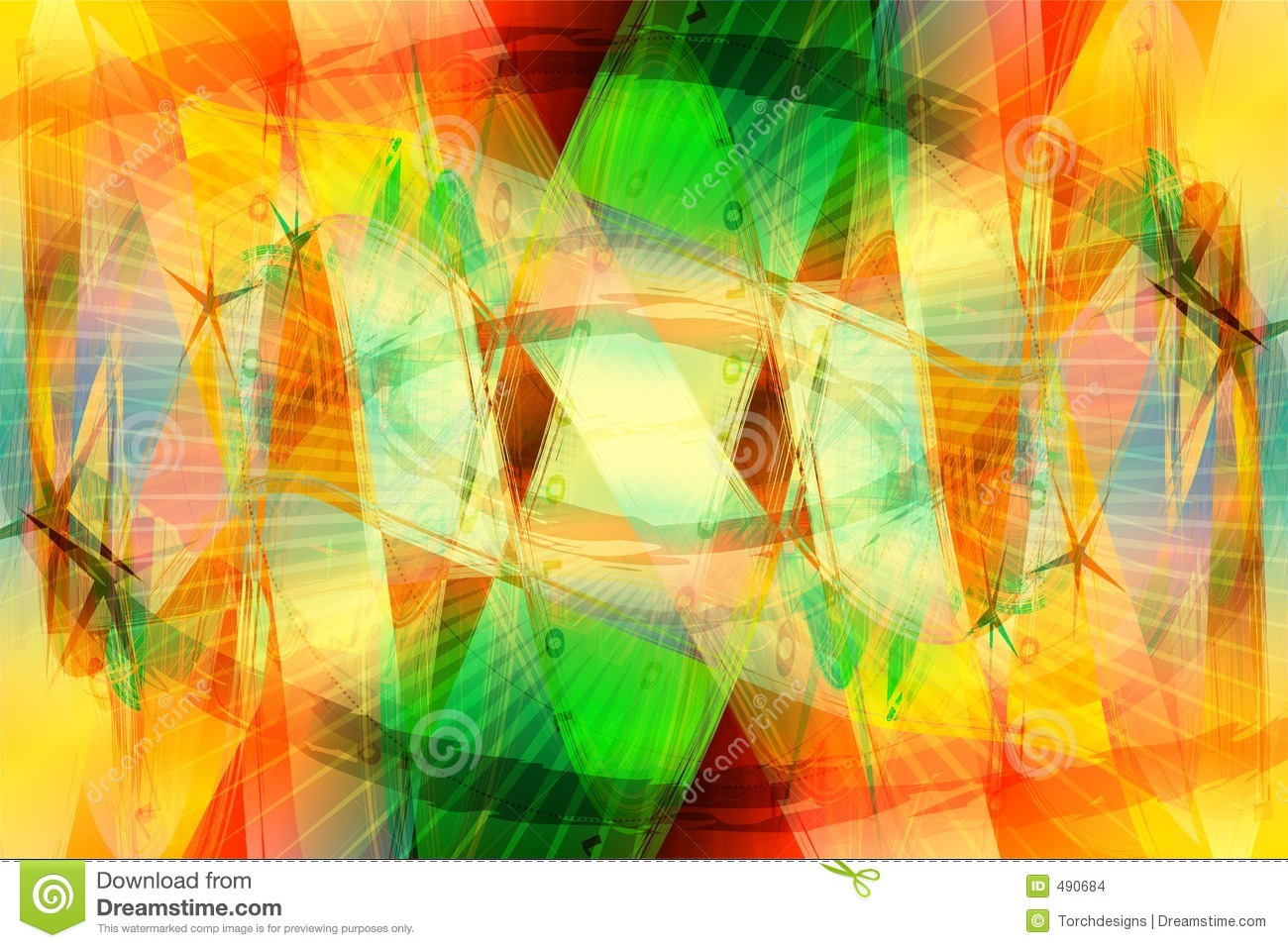 Tropical Color Background Stock Images Image 490684
