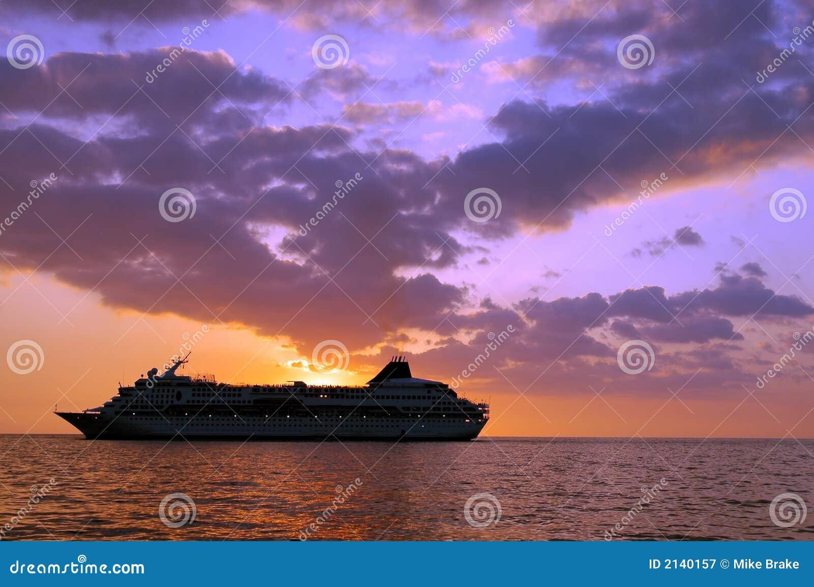 Tropical Cruise Ship