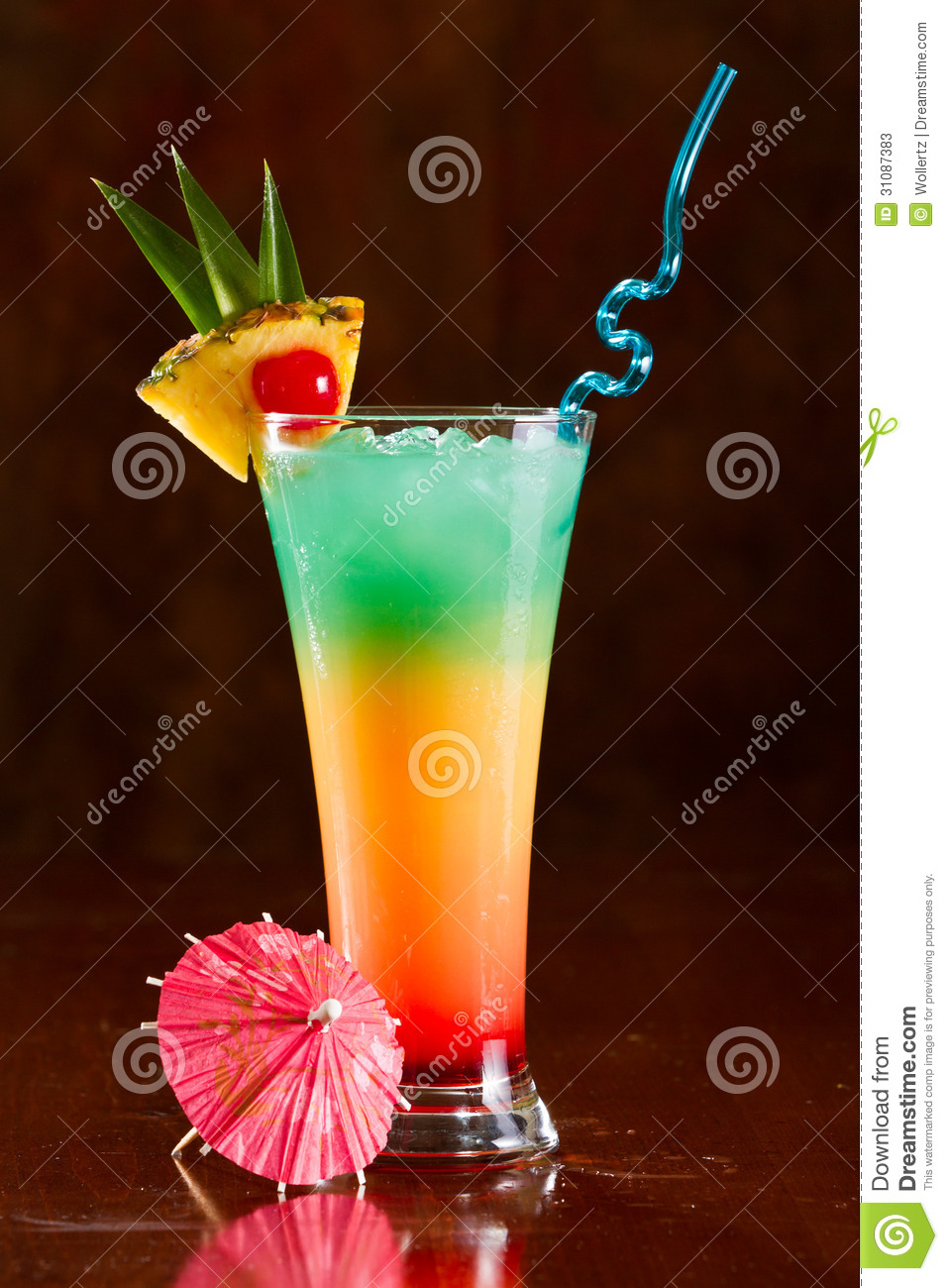 Tropical Drink Stock Photos Image 31087383