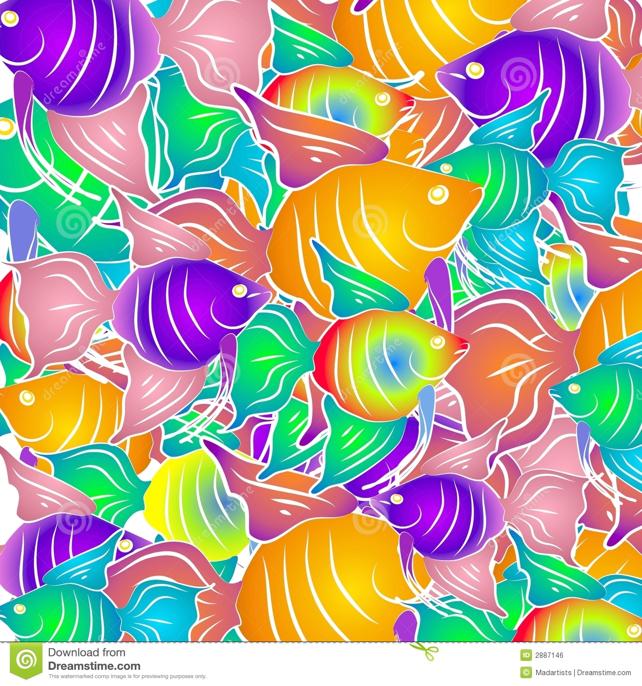 Tribal Fish Ipad Wallpaper Background And Theme: Tropical Fish Background Royalty Free Stock Image
