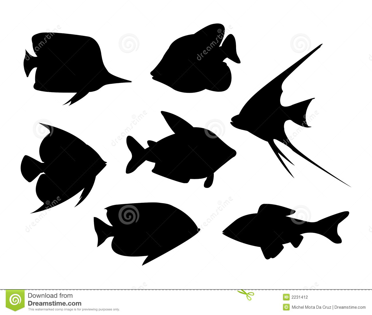 Tropical Fish Vector Stock Photography - Image: 2231412