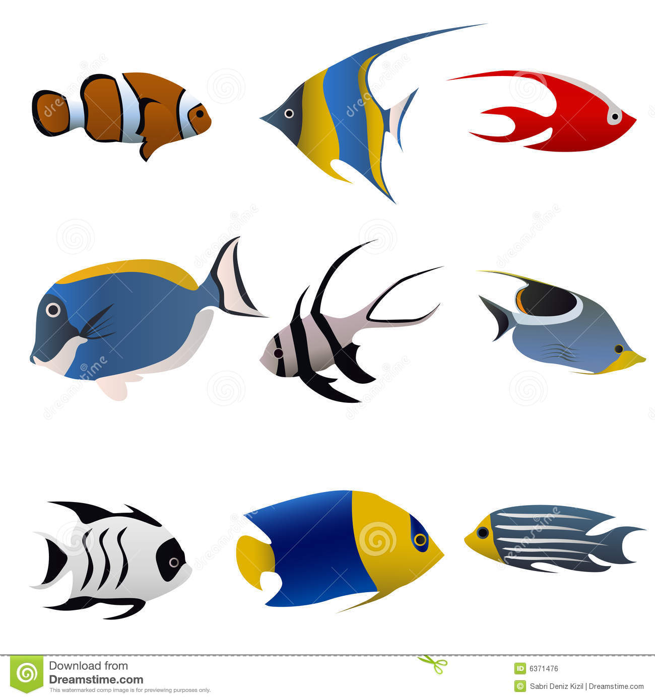 Tropical fish vector stock vector illustration of seaside for Fish and pets unlimited
