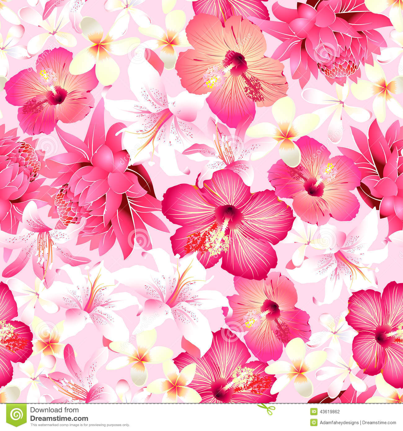 Flower Pink background pattern pictures