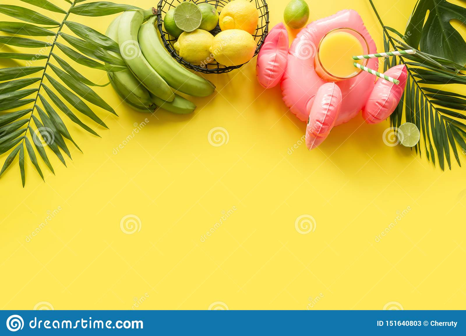 COSTUME TROPICAL HOLIDAY COCONUT PALM TREE /& FLAMINGO GLASSES SUNGLASSES PARTY