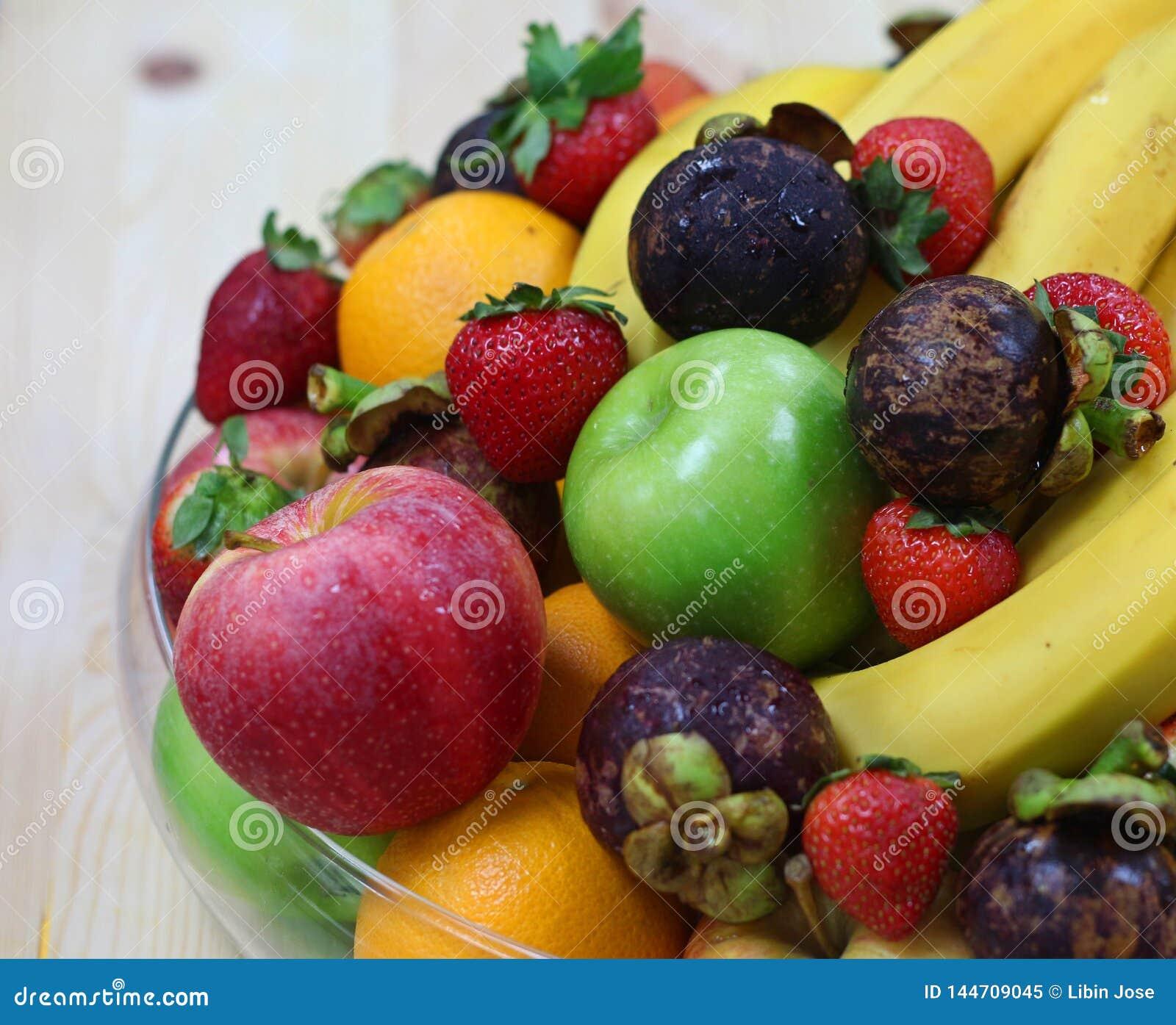 Tropical fresh fruits