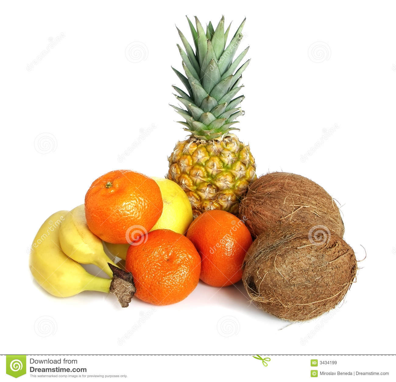 Tropical Fruit Royalty Free Stock Images Image 3434199