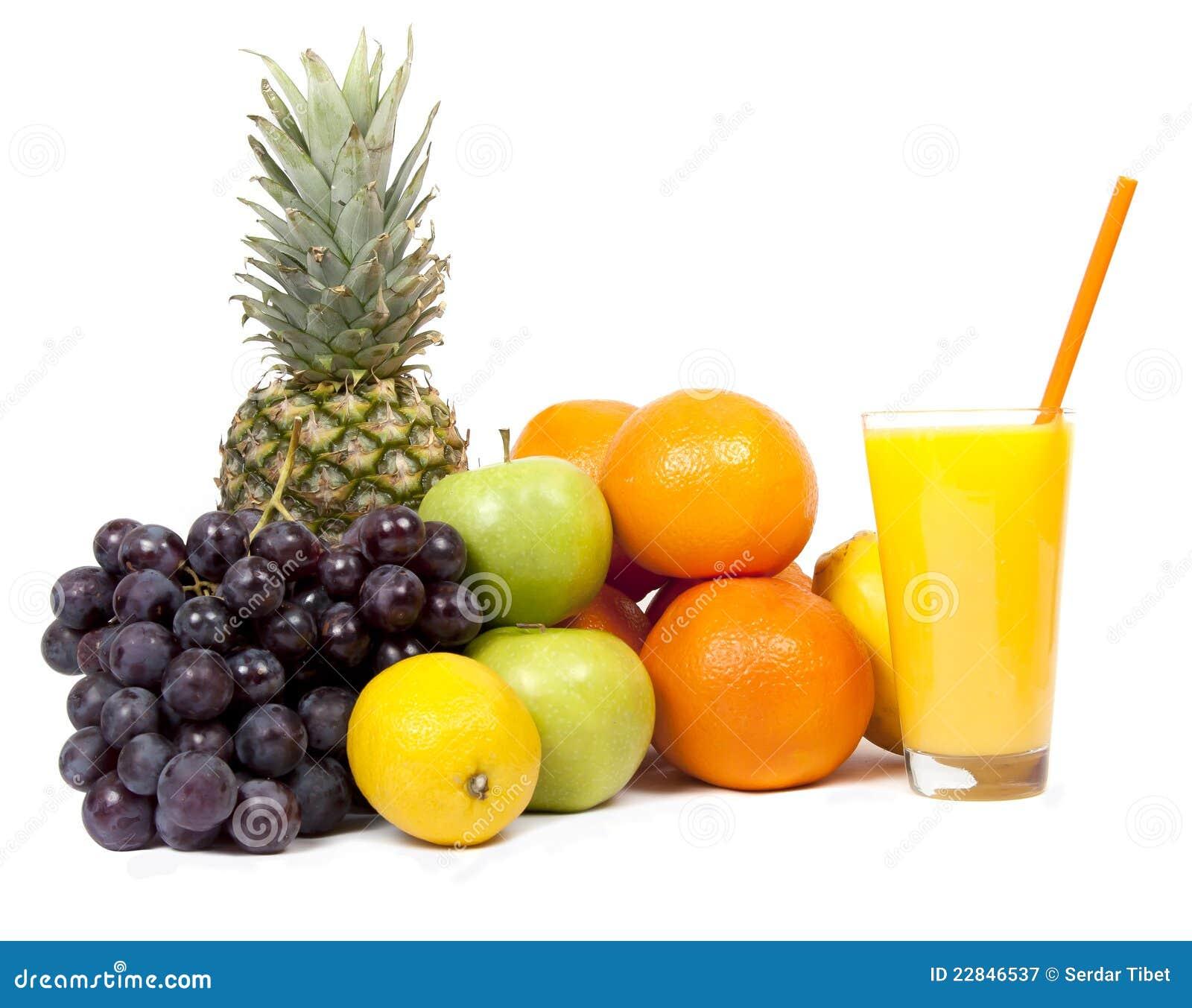 Tropical Fruit Juice Stock Image Image Of Fruit Healthy 22846537