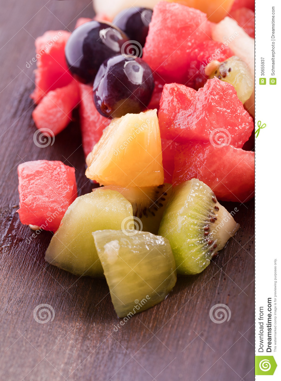 Tropical Fruit Salad Royalty Free Stock Photography - Image: 30655937