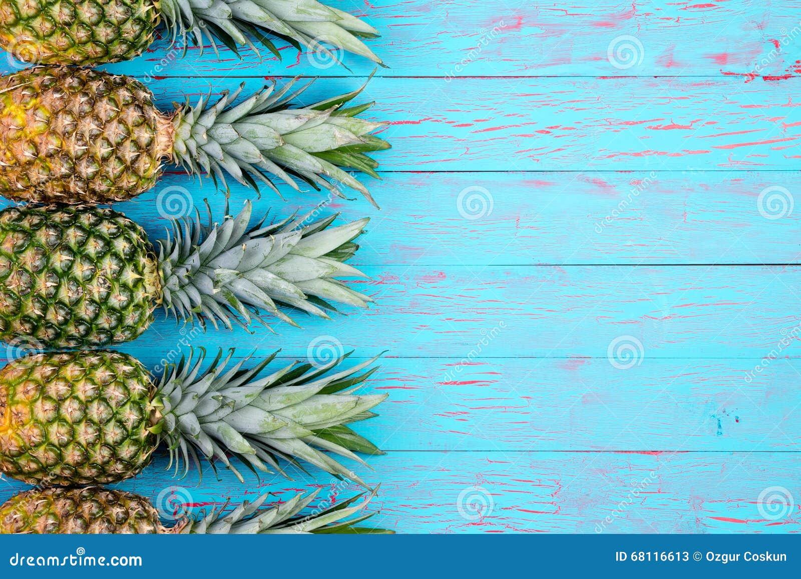 Tropical Fruit Theme Background Stock Image Image Of
