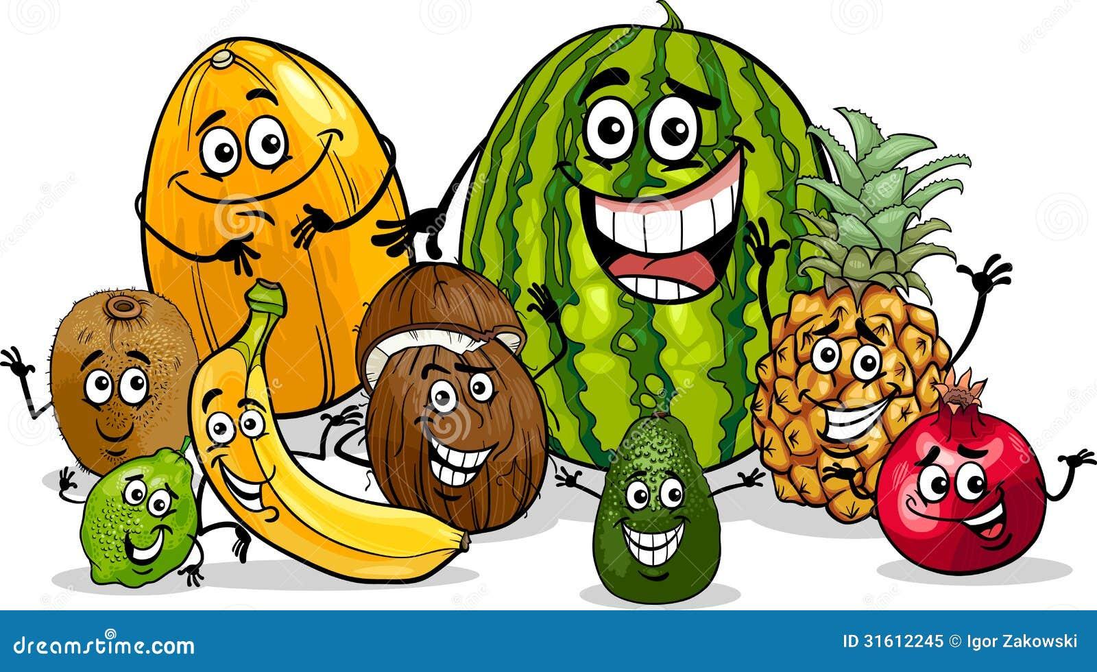Funny Fruit Cartoons | www.pixshark.com - Images Galleries ...