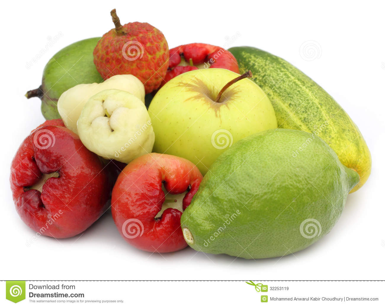 Tropical Fruits And Vegetables Royalty Free Stock Images ...